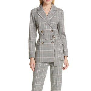 Kate Spade Menswear Modern Plaid Blazer Jacket 14